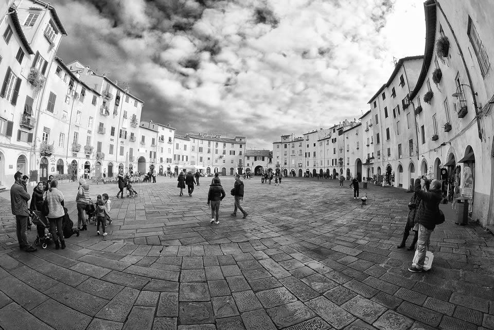 Foto Anfiteatro Bianco e Nero