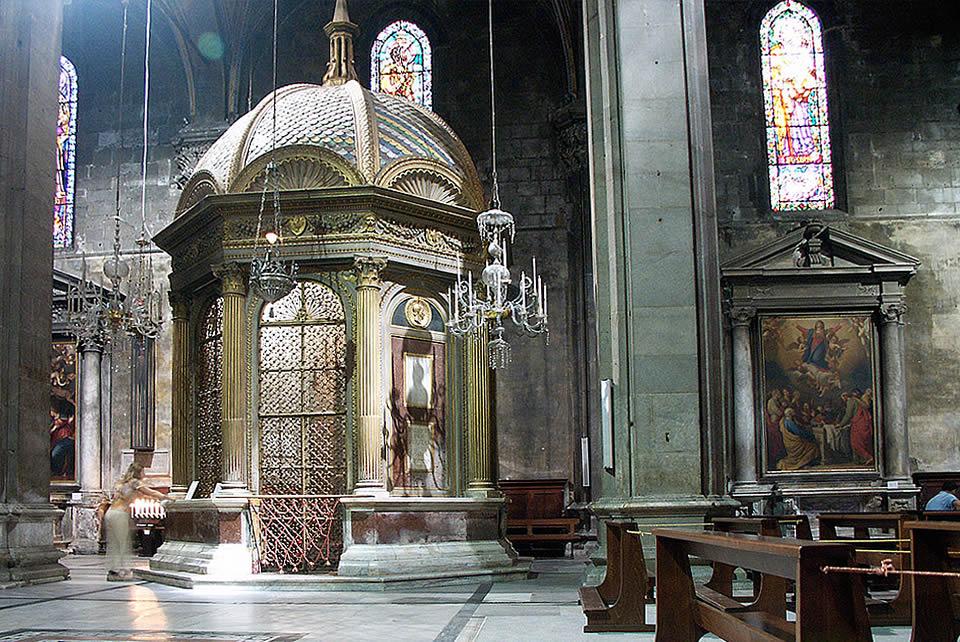 interno del Duomo Lucca